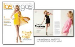 Las Vegas Magazine Editorial Fashion Makeup and Hair