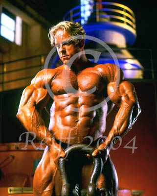 Photo of bodybuilder Aaron Madron