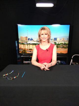 Makeup Artist in Las Vegas for TV News Media Interviews