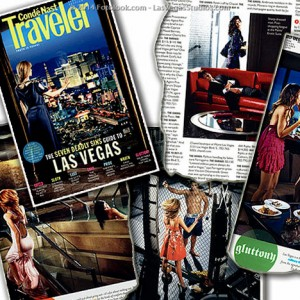 Conde Nast Traveler Advertorial for Vegas Hotel