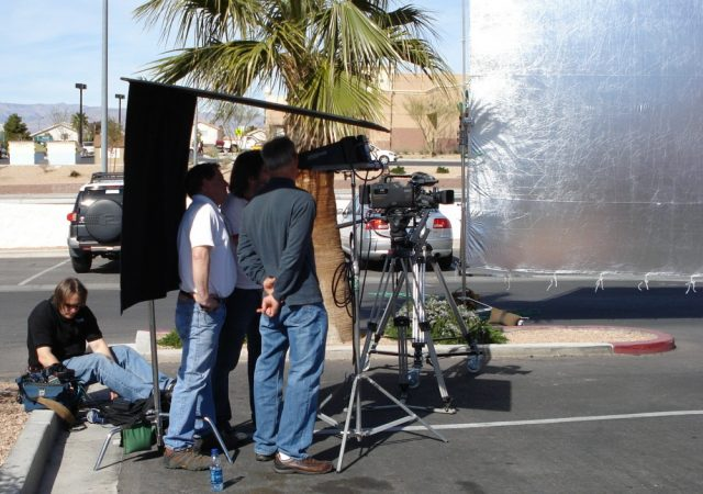 Commercial Shoot at LV Speedway