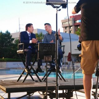 Makeup Artist in Las Vegas for TV News Media Interviews - Julio Cesar Chavez