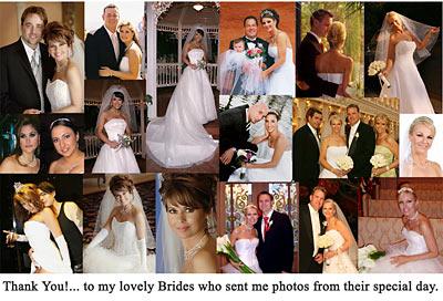 Makeup Artist for Las Vegas Weddings Christiné Copeland - A collage of photos