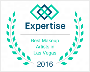 Selected by Expertise as one of the Best Makeup Artists in Las Vegas