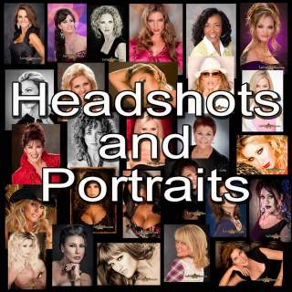 composite image of women's headshots and portraits