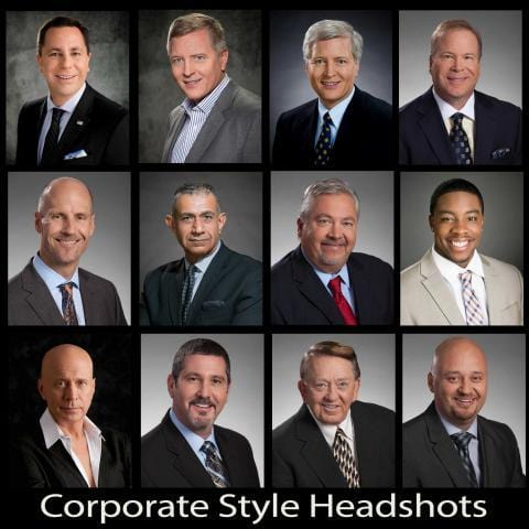 mens business portraits headshots