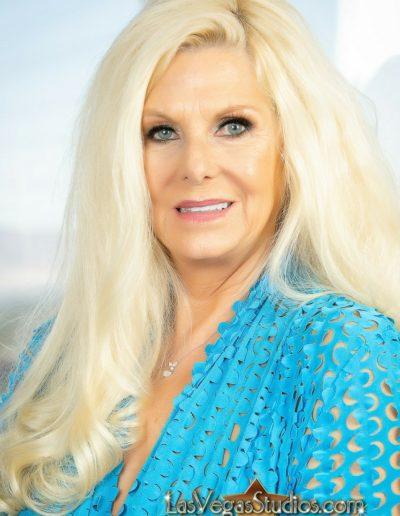 Makeup on Mature Woman Over 65